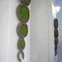 ::Multiple hanging wreathes - Sifnos Island