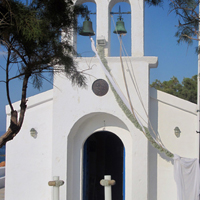 ::Aegina Island, chapel decoration