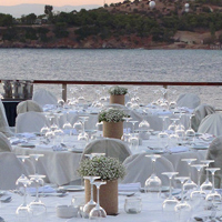 ::Reception - tables arrangements