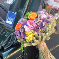 ::Milleflor bouquet - car decor
