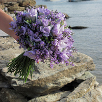 ::Summer bridal bouquet